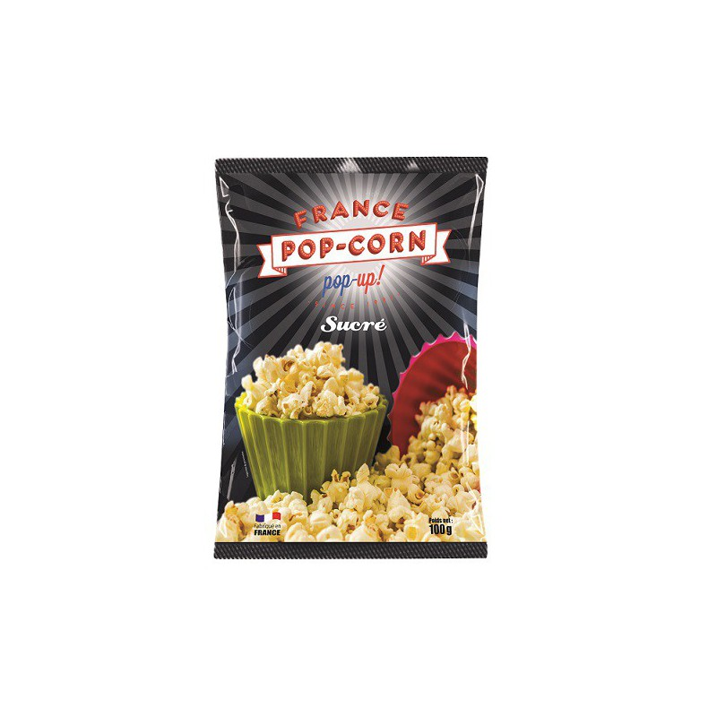 Pop-corn sucré sachets