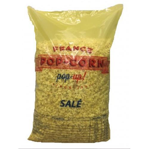 Pop-corn salé vrac palette