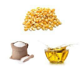 Ingrédients pop-corn