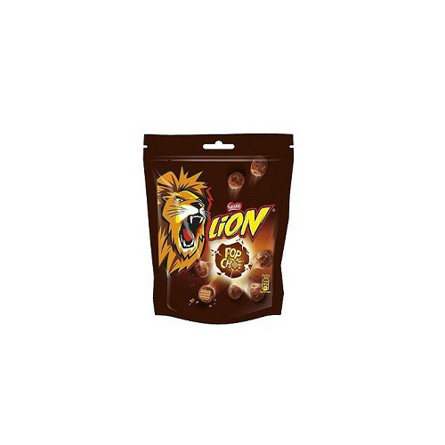 Lion pop choc sachet 140g