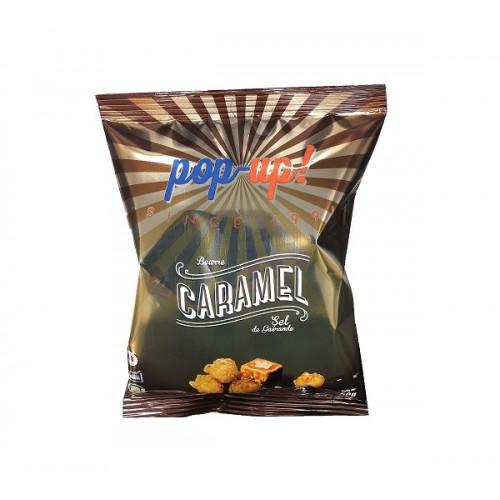 Pop-corn caramel beurre sel de Guérande sachets 50 g