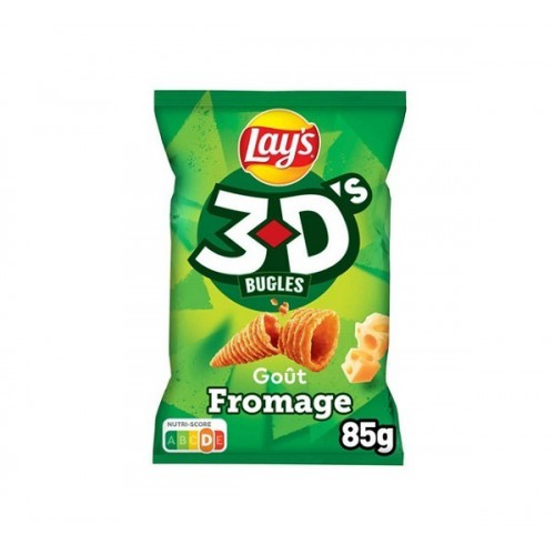 3D'S Bugles Fromage 85g